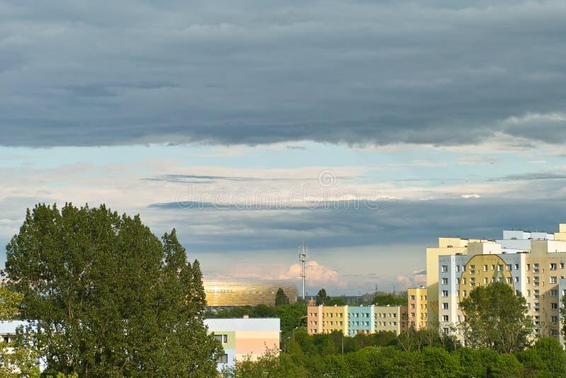 Download Gdansk Zaspa Cityscape Stock Photo - Image: 26947980