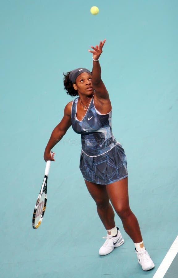 gdf otwarty Serena słuzyć Suez Williams obrazy stock