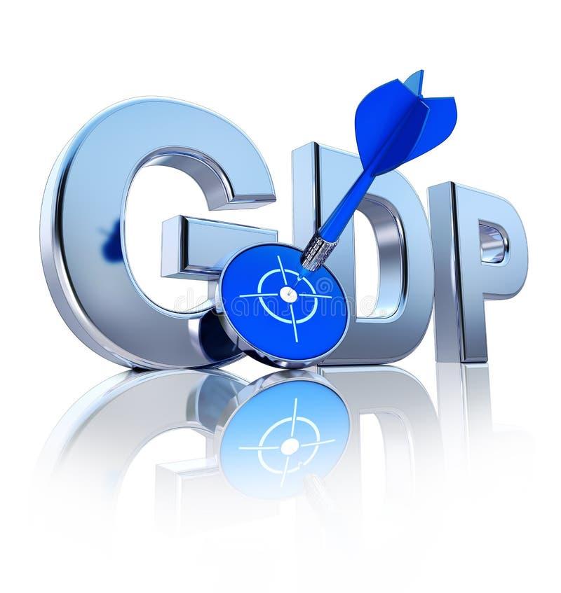GDP icon vector illustration
