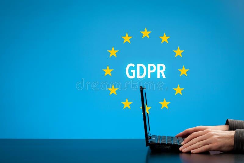 GDPR概念 免版税库存图片