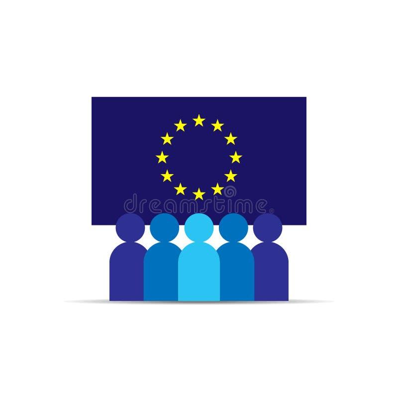 GDPR Allgemeine Daten-Schutz-Regelung EU zeichnen auf und kennzeichnen Ähnliche Bilder können in meiner Galerie gefunden werden D stock abbildung