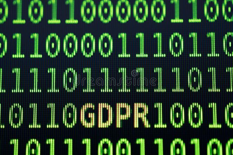 GDPR General Data Protection Regulation concept. stock photos