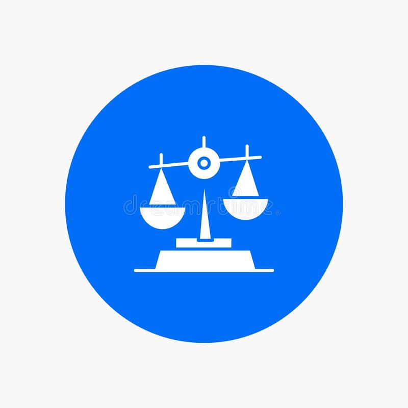 Gdpr, justicia, ley, balanza libre illustration
