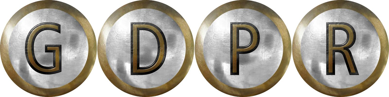 GDPR, regulación general de la protección de datos fotos de archivo