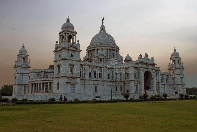 gdy Britain budynek budował wielkiego ind kolkata marmuru pamiątkowej pomnikowej muzealnej teraz oryginalnie ozdobnej królowej Vi obrazy stock