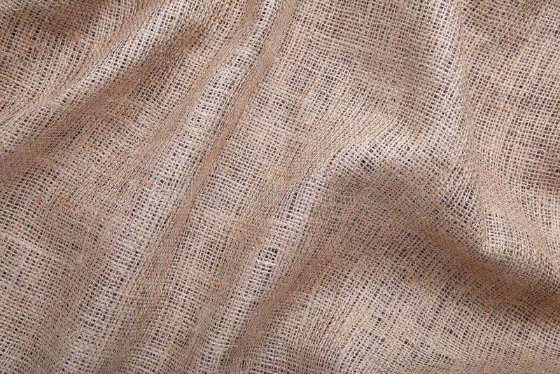 gdy tła brezentowa tkaniny tkanin tekstura Zamyka w górę parciaka zdjęcie royalty free