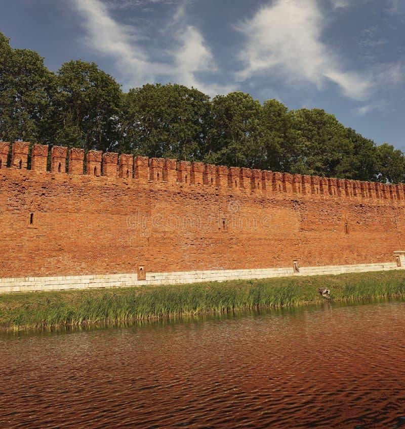 gdy tło był może forteczny obrazek używać ściana zdjęcie stock