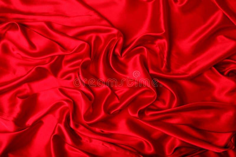 gdy tło może używać gładki elegancki czerwony jedwab fotografia stock