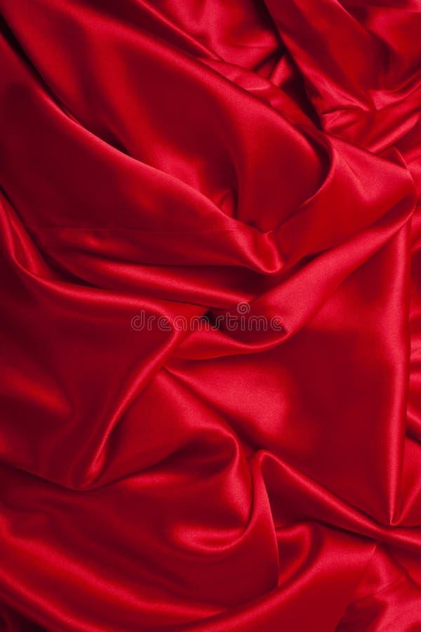 gdy tło może używać gładki elegancki czerwony jedwab obraz stock