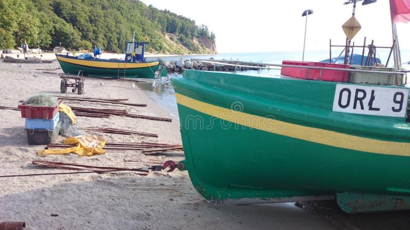 Gdynia Orlowo royalty-vrije stock fotografie