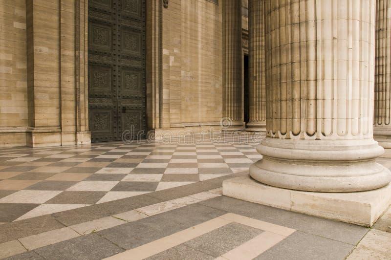 gdzie klasycznej architektury zdjęcia stock