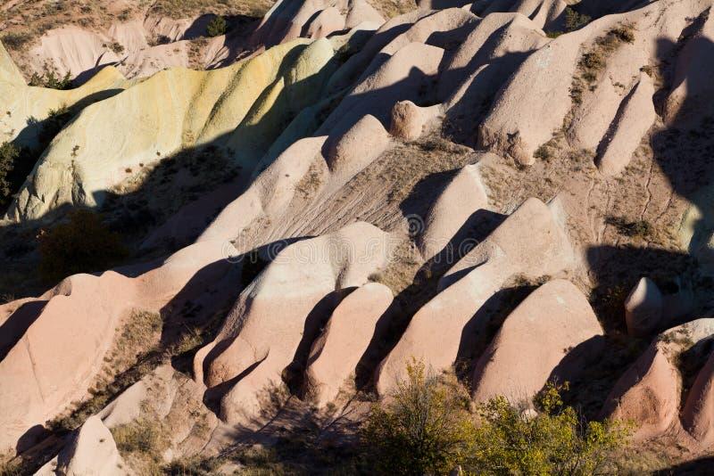 Geërodeerde rotsvormingen stock fotografie