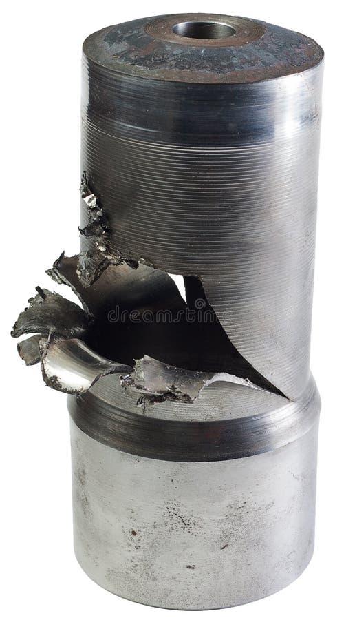 Geëxplodeerde shell stock afbeelding