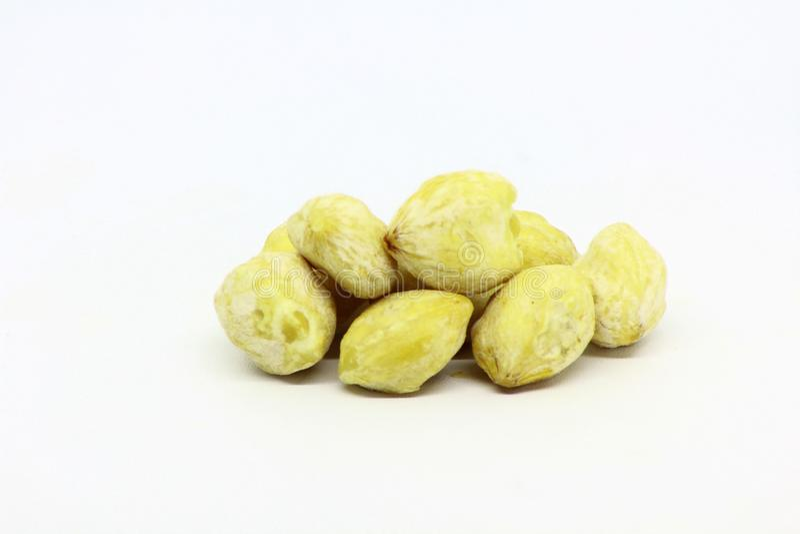 Geïsoleerd Durianfruit stock afbeelding