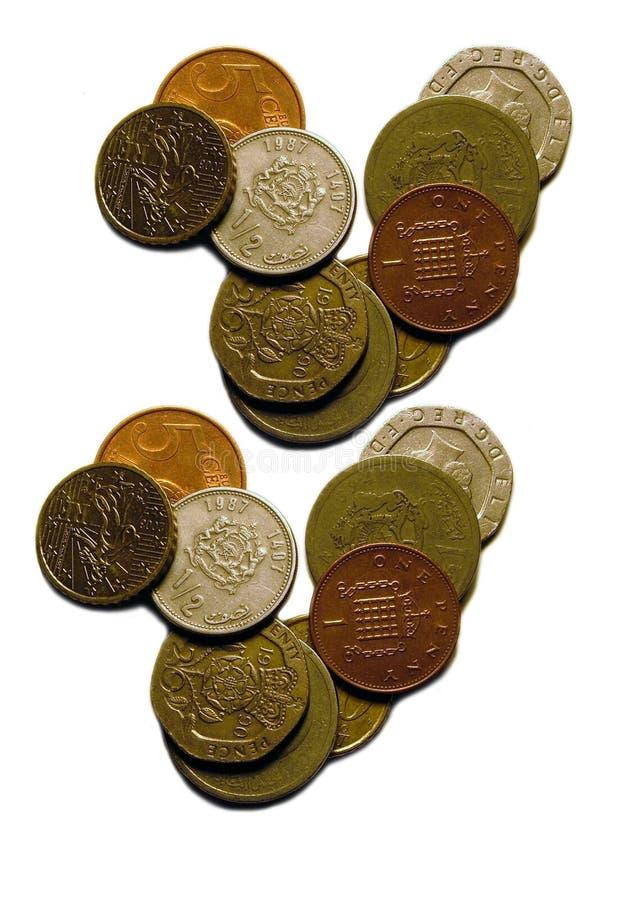 Download Geïsoleerd_ geld stock afbeelding. Afbeelding bestaande uit globalisering - 282587