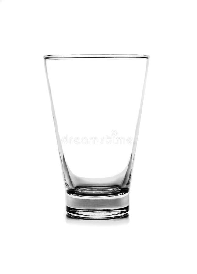 Geïsoleerd glas royalty-vrije stock foto