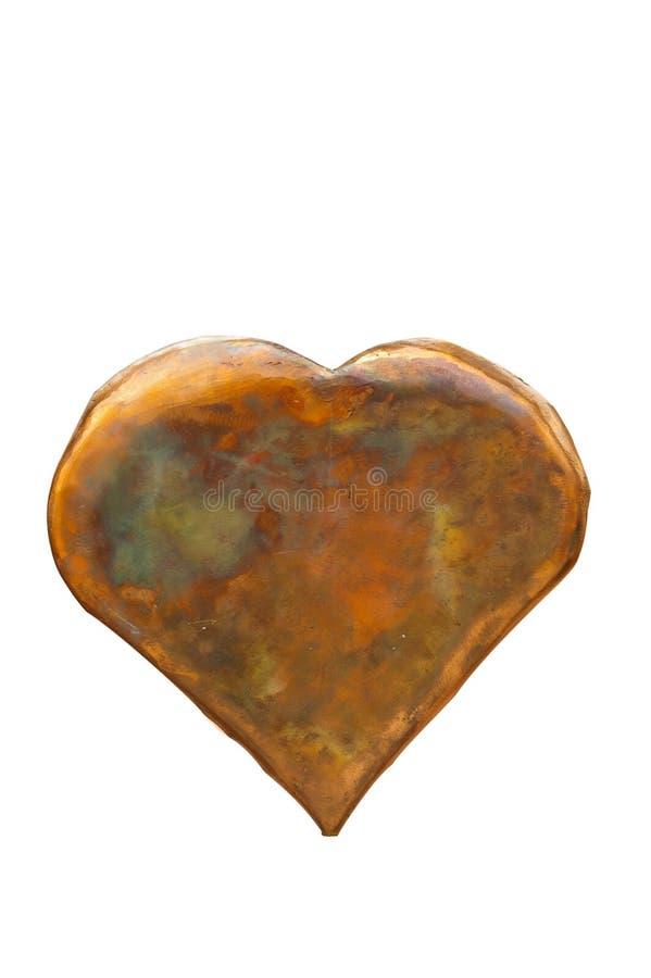 Geïsoleerd hart (met het knippen van weg) royalty-vrije stock fotografie