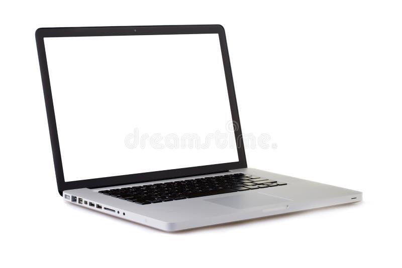 Geïsoleerd Laptop royalty-vrije stock foto's
