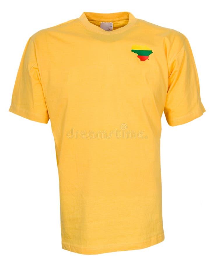 Geïsoleerd overhemd royalty-vrije stock afbeelding