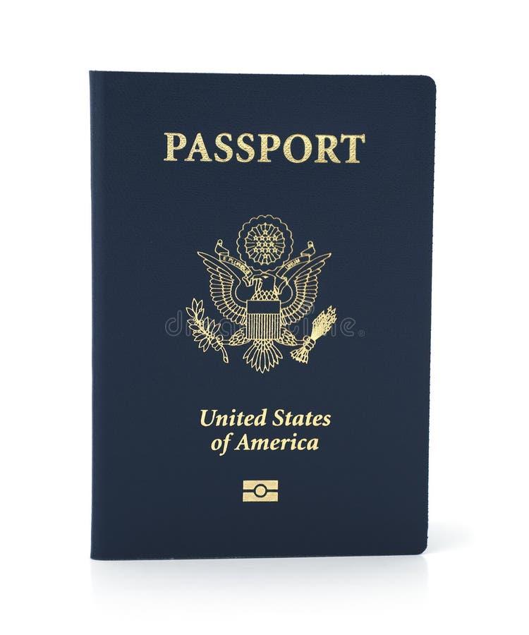 Geïsoleerd paspoort royalty-vrije stock fotografie
