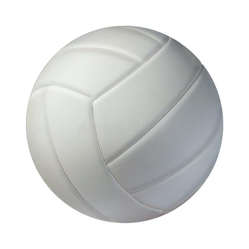 Geïsoleerd volleyball stock afbeeldingen