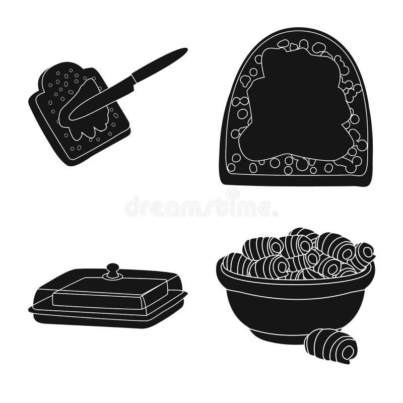 Geïsoleerd voorwerp van dieet en landbouwbedrijfteken Reeks van dieet en zuivel vectorpictogram voor voorraad royalty-vrije illustratie