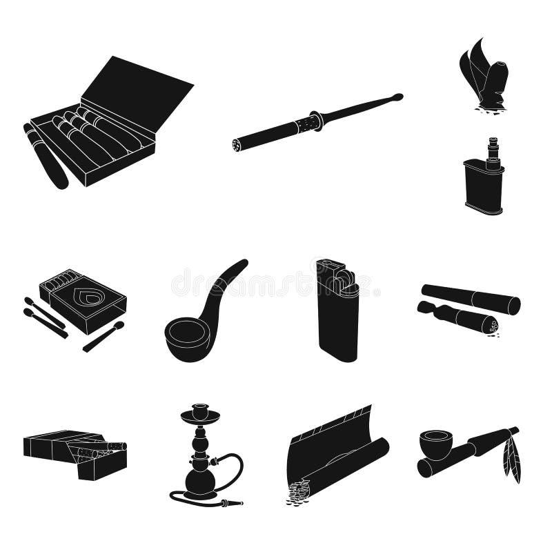Geïsoleerd voorwerp van verslaving en euforieteken Inzameling van verslaving en de vectorillustratie van de gewoontevoorraad vector illustratie