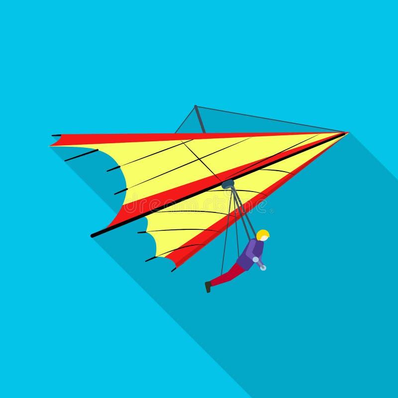 Geïsoleerd voorwerp van vliegtuig en vervoerteken Reeks van vliegtuig en de vectorillustratie van de hemelvoorraad royalty-vrije illustratie