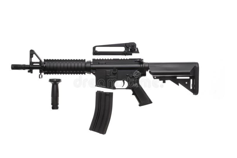 Geïsoleerd wapen AR-15 stock foto's