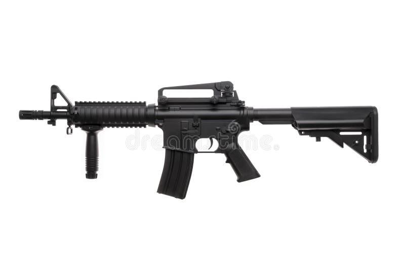 Geïsoleerd wapen AR-15 royalty-vrije stock afbeelding