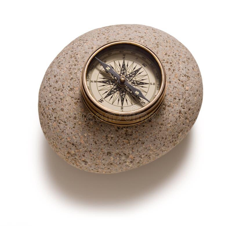 Geïsoleerdb Kompas stock afbeeldingen