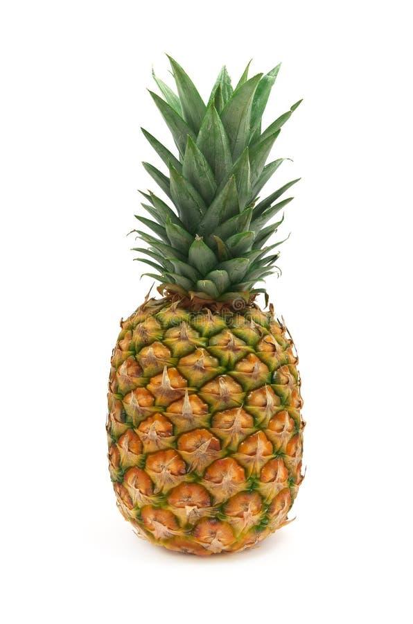 Geïsoleerde ananas stock foto's