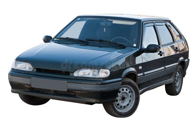 Geïsoleerde auto royalty-vrije stock foto
