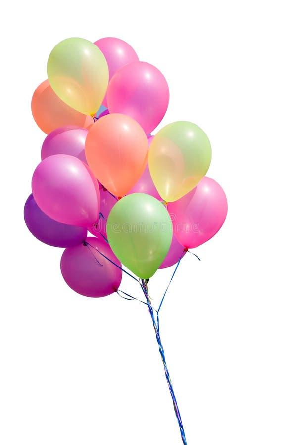 Geïsoleerde ballons royalty-vrije stock foto's