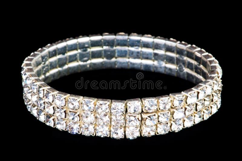 Geïsoleerde. de ring van juwelen stock afbeelding