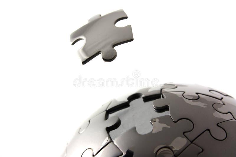 Geïsoleerde figuurzaagbol stock foto