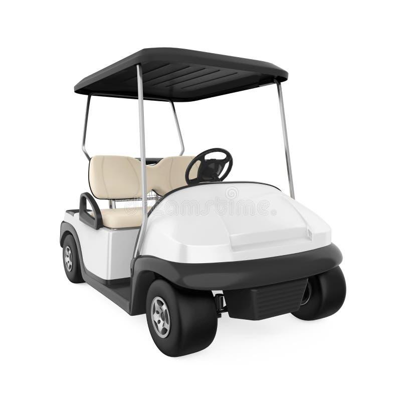 Geïsoleerde golfkar vector illustratie