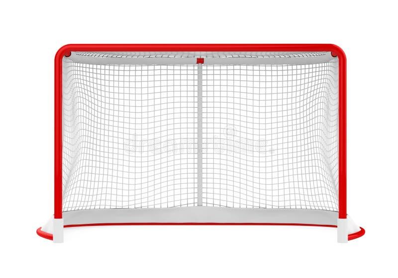 Geïsoleerde hockeypoorten vector illustratie