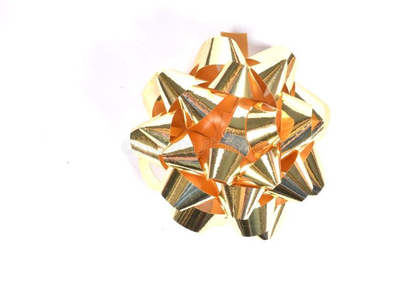 Geïsoleerde Kerstmisboog royalty-vrije stock foto