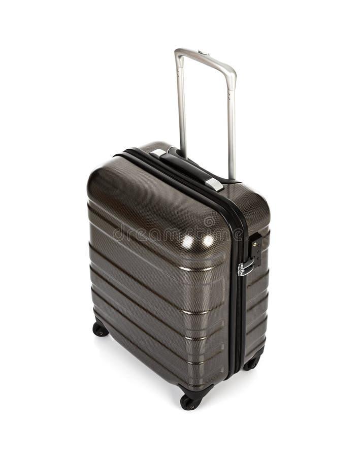 Geïsoleerde koffer royalty-vrije stock fotografie