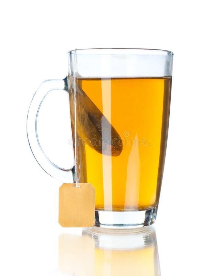 Geïsoleerde kop thee royalty-vrije stock afbeelding