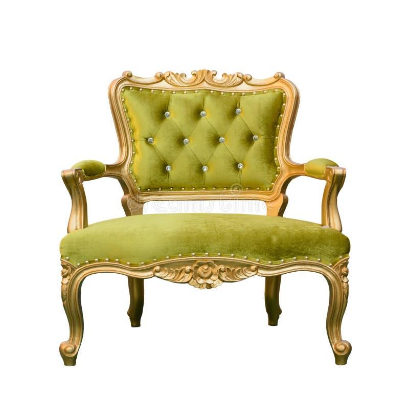 Geïsoleerde luxe uitstekende groene laag royalty-vrije stock fotografie