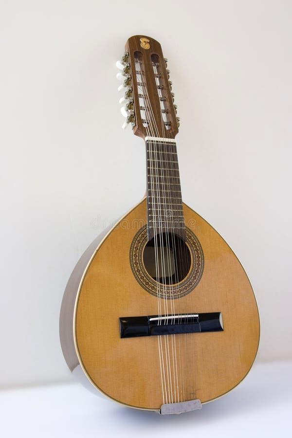 Geïsoleerde mandoline royalty-vrije stock foto's