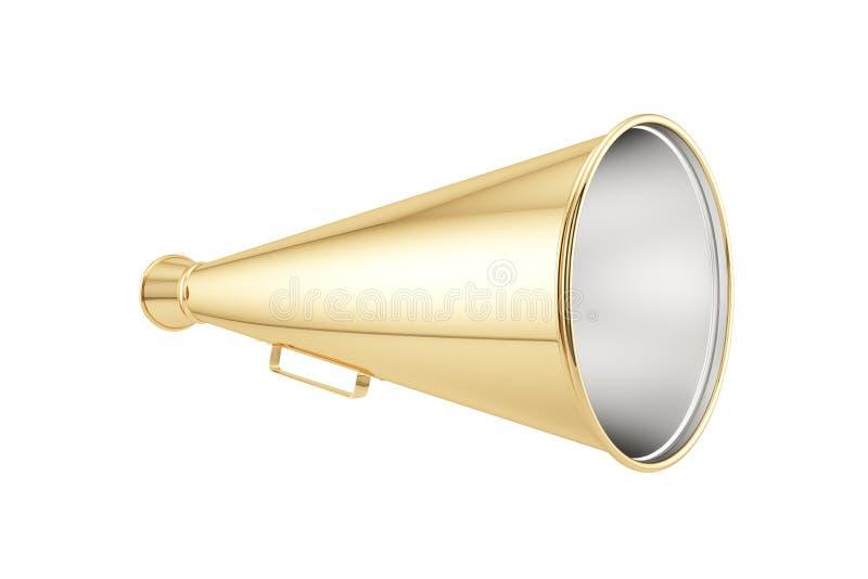 Geïsoleerde megafoon royalty-vrije illustratie