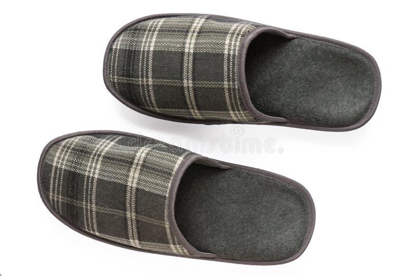 Geïsoleerde pantoffels stock afbeelding