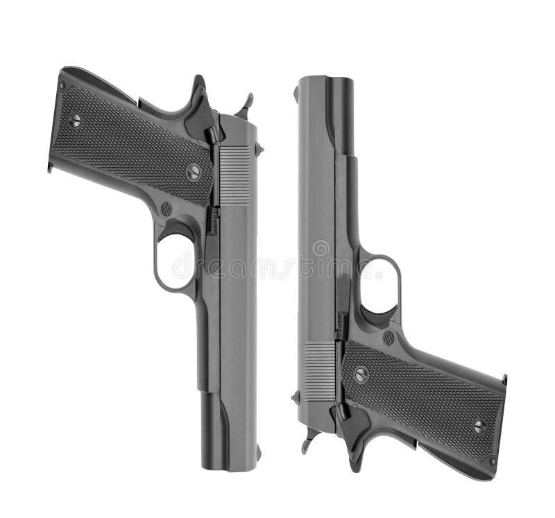 Geïsoleerde pistolen stock foto