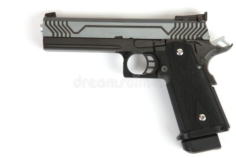 Geïsoleerde pistool stock foto