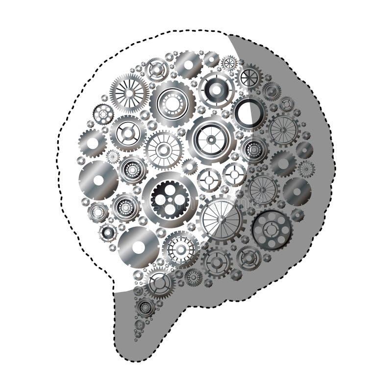 Geïsoleerde toestellen en bellenontwerp vector illustratie