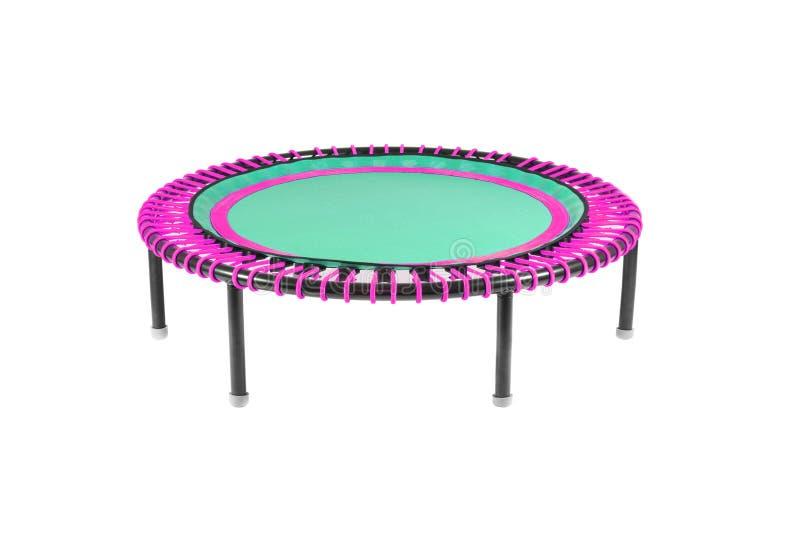 Geïsoleerde trampoline royalty-vrije stock foto's