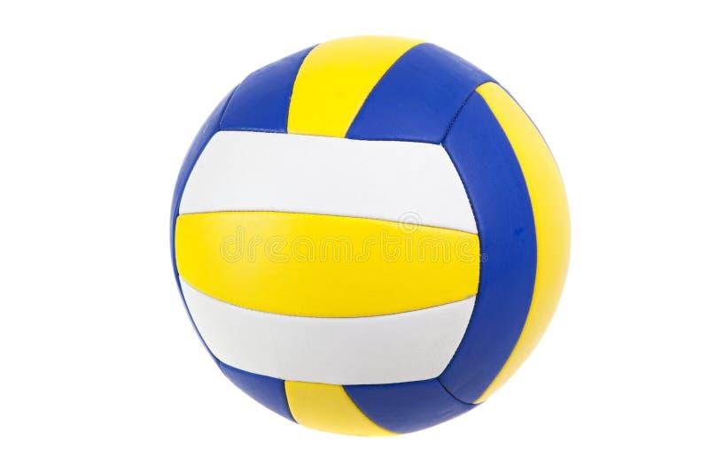 Geïsoleerde volleyballbal,